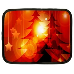 Tree Trees Silhouettes Silhouette Netbook Case (XL)