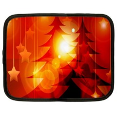 Tree Trees Silhouettes Silhouette Netbook Case (XXL)