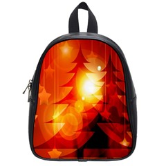 Tree Trees Silhouettes Silhouette School Bags (Small)