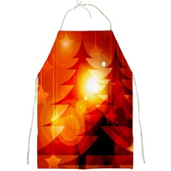 Tree Trees Silhouettes Silhouette Full Print Aprons
