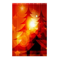 Tree Trees Silhouettes Silhouette Shower Curtain 48  x 72  (Small)
