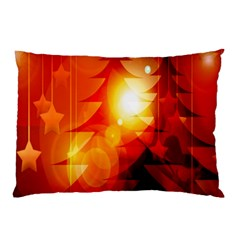 Tree Trees Silhouettes Silhouette Pillow Case (two Sides)