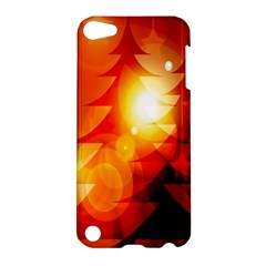 Tree Trees Silhouettes Silhouette Apple Ipod Touch 5 Hardshell Case