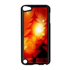 Tree Trees Silhouettes Silhouette Apple Ipod Touch 5 Case (black)