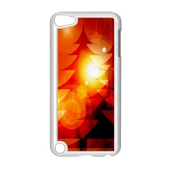 Tree Trees Silhouettes Silhouette Apple Ipod Touch 5 Case (white)