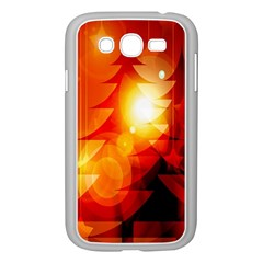 Tree Trees Silhouettes Silhouette Samsung Galaxy Grand Duos I9082 Case (white)