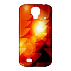 Tree Trees Silhouettes Silhouette Samsung Galaxy S4 Classic Hardshell Case (pc+silicone)