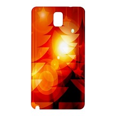 Tree Trees Silhouettes Silhouette Samsung Galaxy Note 3 N9005 Hardshell Back Case