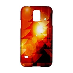 Tree Trees Silhouettes Silhouette Samsung Galaxy S5 Hardshell Case