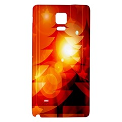 Tree Trees Silhouettes Silhouette Galaxy Note 4 Back Case