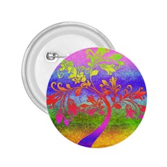 Tree Colorful Mystical Autumn 2 25  Buttons