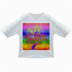 Tree Colorful Mystical Autumn Infant/toddler T Shirts