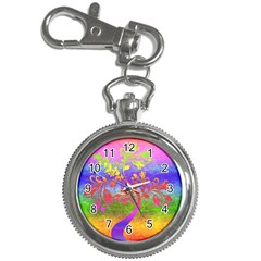 Tree Colorful Mystical Autumn Key Chain Watches