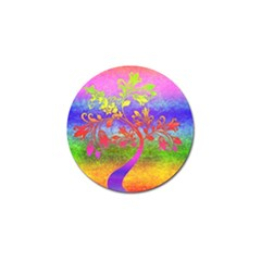 Tree Colorful Mystical Autumn Golf Ball Marker (4 pack)