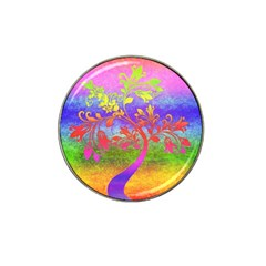 Tree Colorful Mystical Autumn Hat Clip Ball Marker