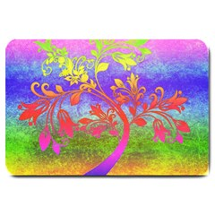Tree Colorful Mystical Autumn Large Doormat