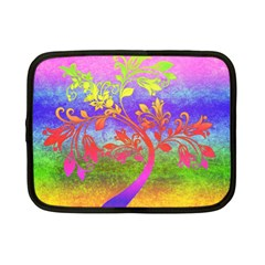 Tree Colorful Mystical Autumn Netbook Case (Small)