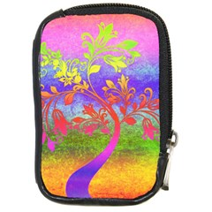 Tree Colorful Mystical Autumn Compact Camera Cases