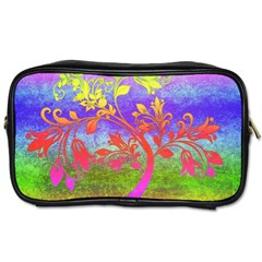 Tree Colorful Mystical Autumn Toiletries Bags