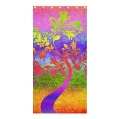 Tree Colorful Mystical Autumn Shower Curtain 36  x 72  (Stall)