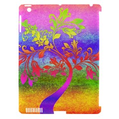 Tree Colorful Mystical Autumn Apple iPad 3/4 Hardshell Case (Compatible with Smart Cover)