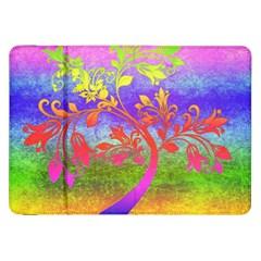Tree Colorful Mystical Autumn Samsung Galaxy Tab 8 9  P7300 Flip Case