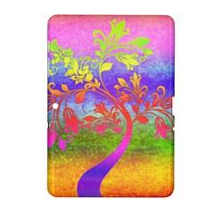 Tree Colorful Mystical Autumn Samsung Galaxy Tab 2 (10.1 ) P5100 Hardshell Case