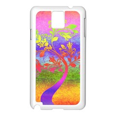 Tree Colorful Mystical Autumn Samsung Galaxy Note 3 N9005 Case (white)