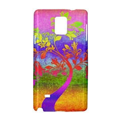 Tree Colorful Mystical Autumn Samsung Galaxy Note 4 Hardshell Case