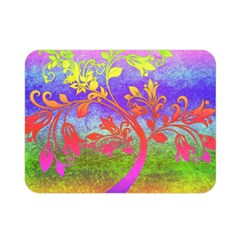 Tree Colorful Mystical Autumn Double Sided Flano Blanket (Mini)