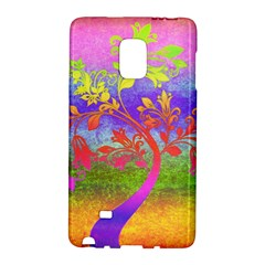 Tree Colorful Mystical Autumn Galaxy Note Edge