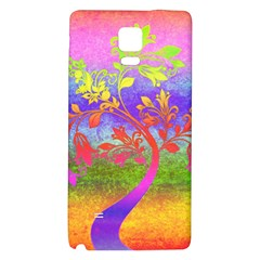 Tree Colorful Mystical Autumn Galaxy Note 4 Back Case