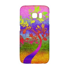 Tree Colorful Mystical Autumn Galaxy S6 Edge