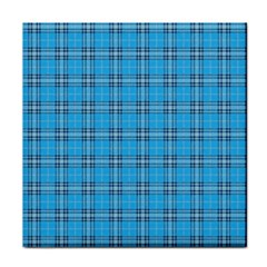 The Checkered Tablecloth Tile Coasters