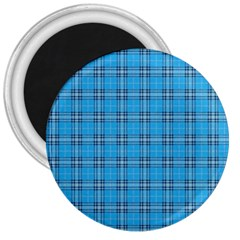 The Checkered Tablecloth 3  Magnets