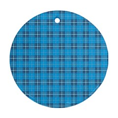 The Checkered Tablecloth Ornament (round)
