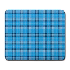The Checkered Tablecloth Large Mousepads