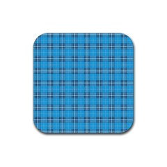 The Checkered Tablecloth Rubber Square Coaster (4 pack)