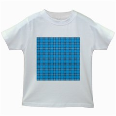 The Checkered Tablecloth Kids White T-Shirts