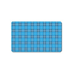 The Checkered Tablecloth Magnet (name Card)