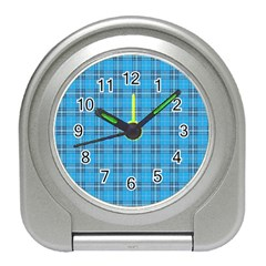 The Checkered Tablecloth Travel Alarm Clocks