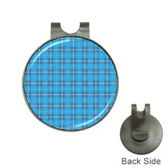 The Checkered Tablecloth Hat Clips With Golf Markers
