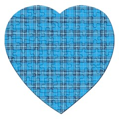 The Checkered Tablecloth Jigsaw Puzzle (heart)