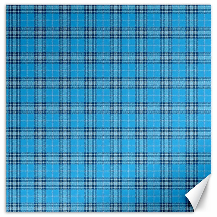 The Checkered Tablecloth Canvas 16  x 16