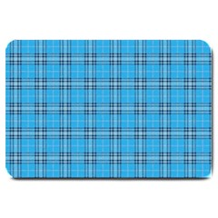 The Checkered Tablecloth Large Doormat