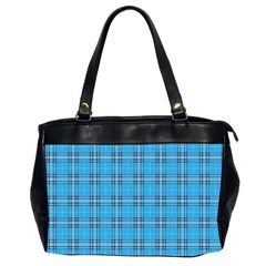 The Checkered Tablecloth Office Handbags (2 Sides)