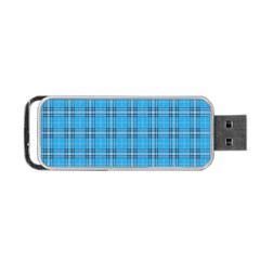 The Checkered Tablecloth Portable Usb Flash (one Side)