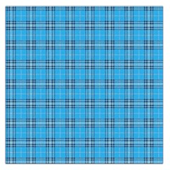 The Checkered Tablecloth Large Satin Scarf (square)