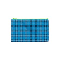 The Checkered Tablecloth Cosmetic Bag (xs)