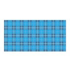 The Checkered Tablecloth Satin Wrap